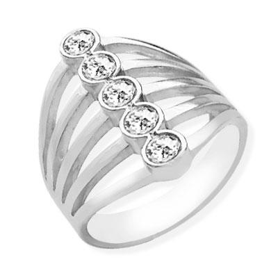 Кольцо Jazz Silver